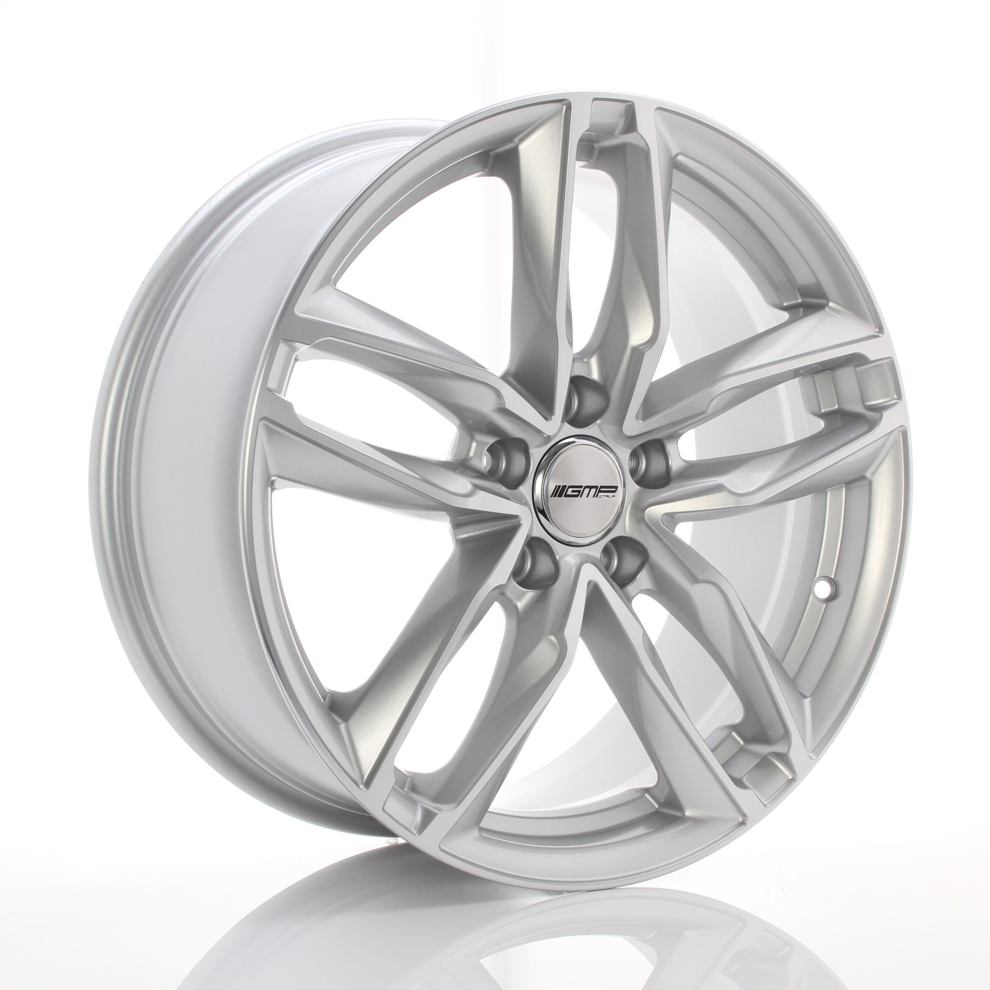 GMP WHEELS ATOM ZILVER 101028859