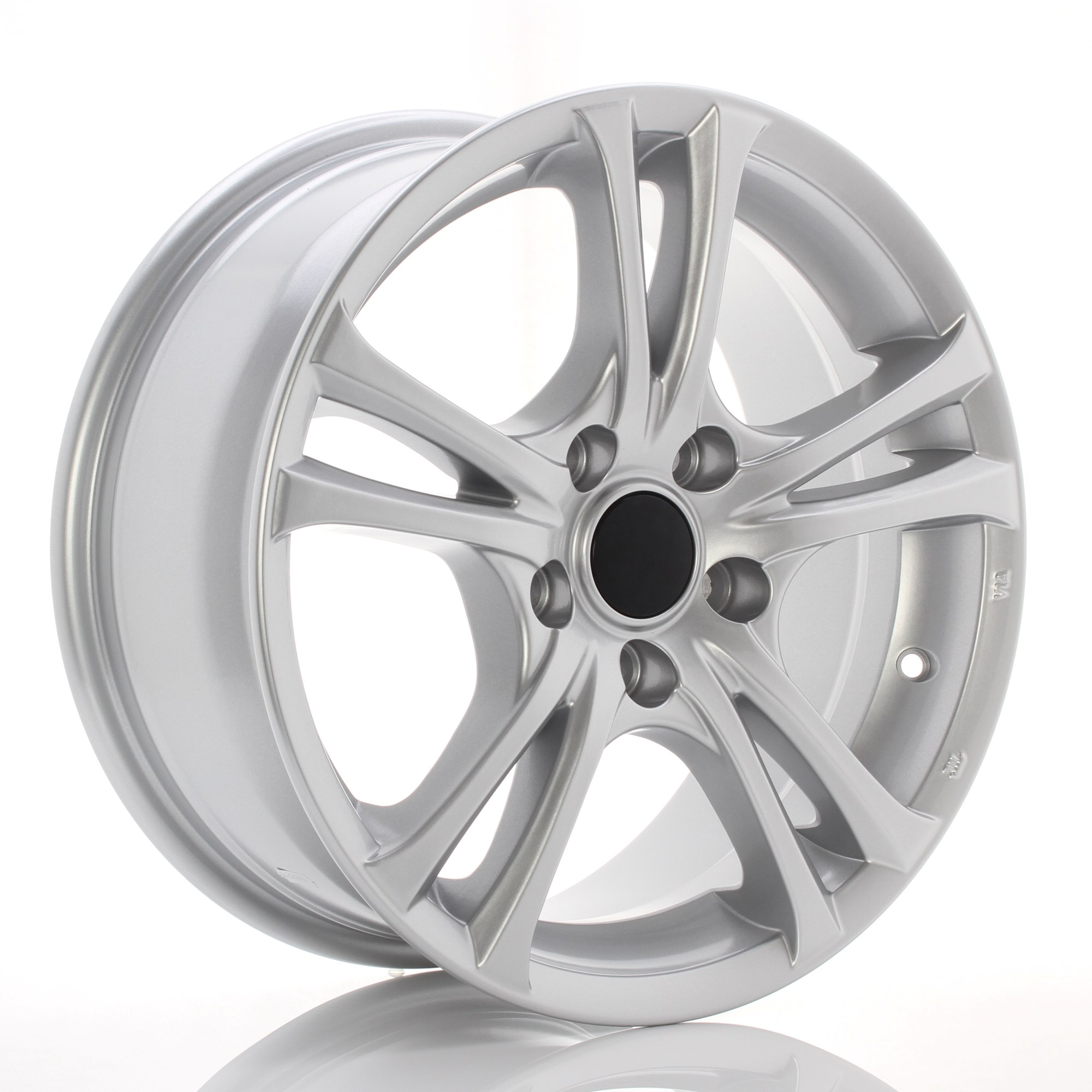 GMP WHEELS EASY R ZILVER 101008598