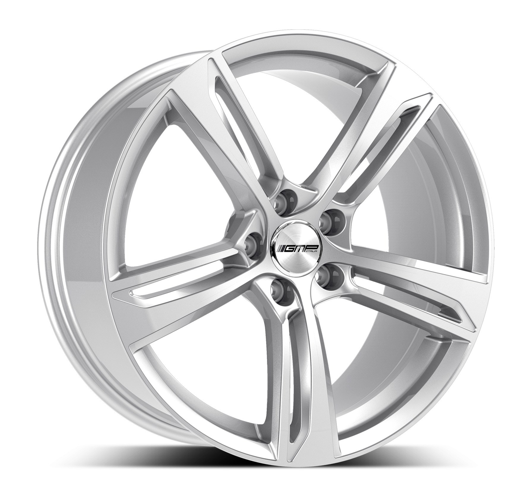 GMP WHEELS PAKY ZILVER 101039230