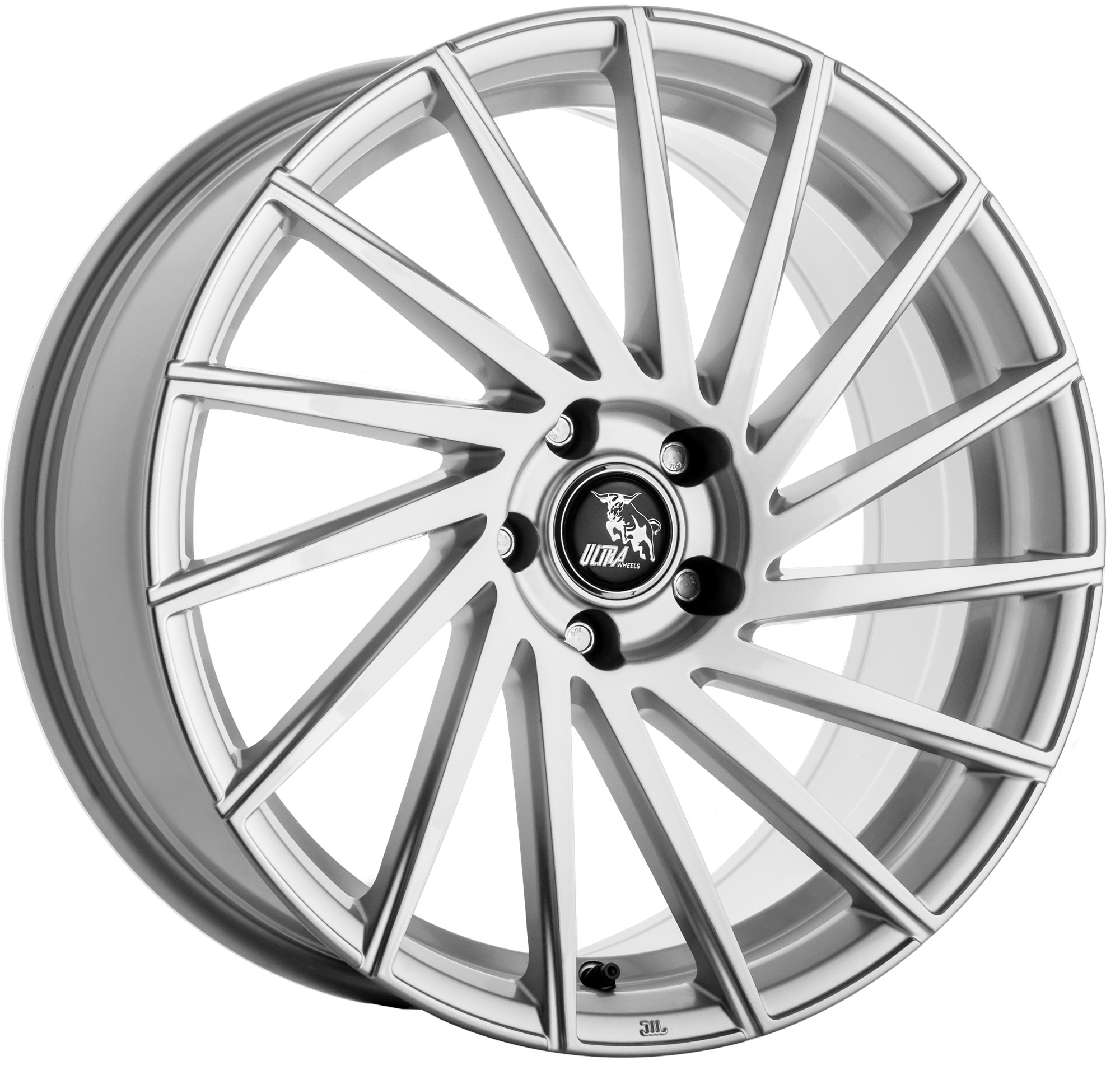 ULTRA WHEELS STORM ZILVER UA9-8519-L-5C-45-72,
